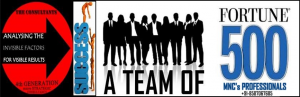 TEAM OF FORTUNE 500 MNC's EXPERIENCED PROFESSIONALS