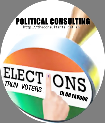 TURN VOTERS IN YOUR FAVOUR Political Consulting Services @ The Consultants - http://theconsultants.net.in/political-branding
